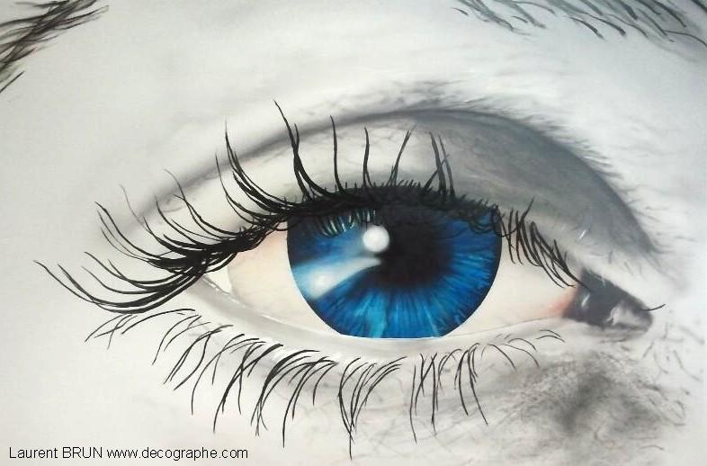 Peinture Dans L Oeil aerographie 2012 accueil