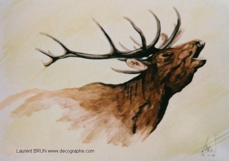 Gros mammiferes - Comment dessiner un cerf ...